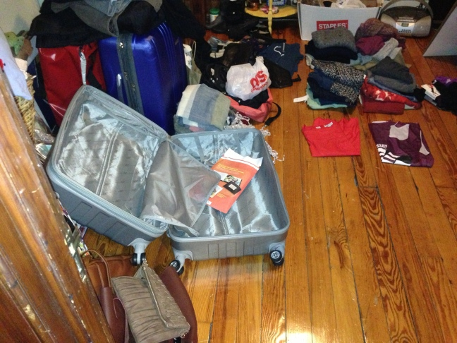 Fulbright packing