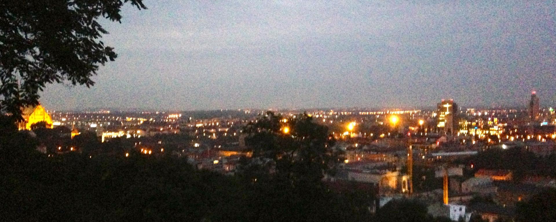 Brno Skyline