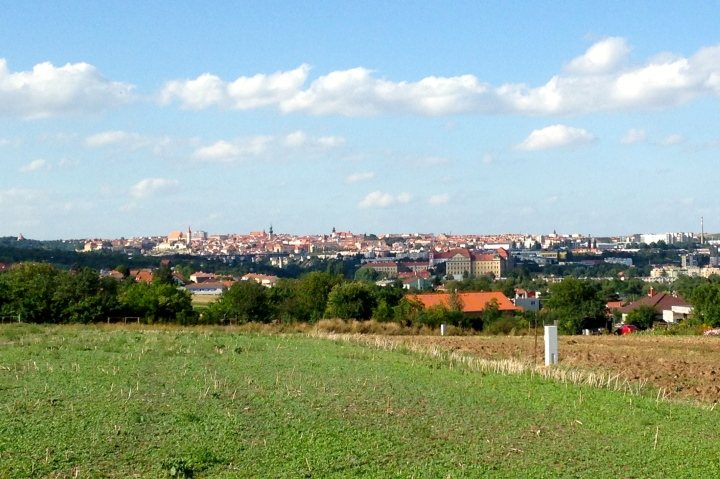 View of Znojmo from my Run in Nový Šaldorf