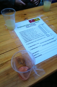 Burčák and a Winefest Wine List