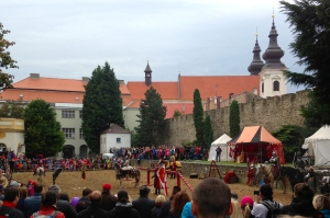 Watching some Medieval Jousting