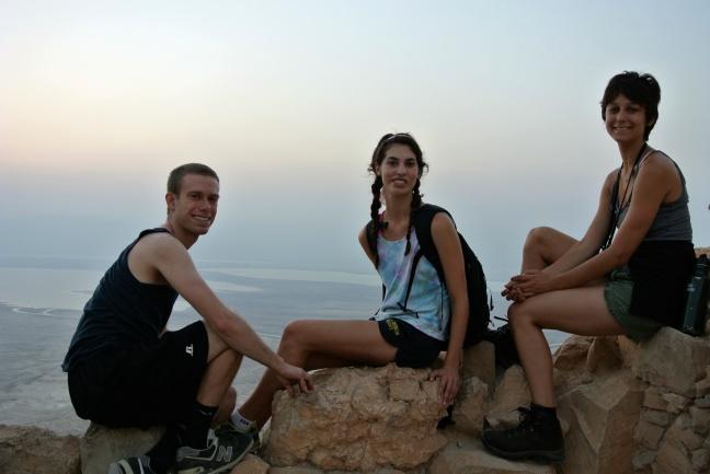 Sunrise at Masada, Masada, Israel
