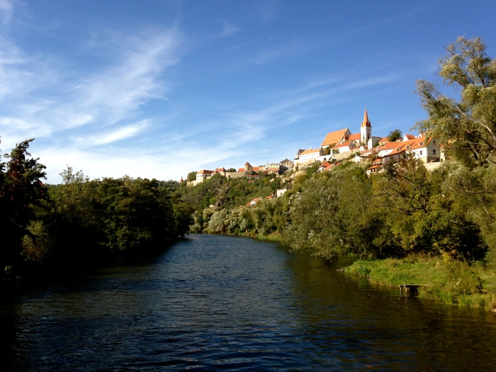 Dyje River and Znojmo, Znojmo, Czech Republic