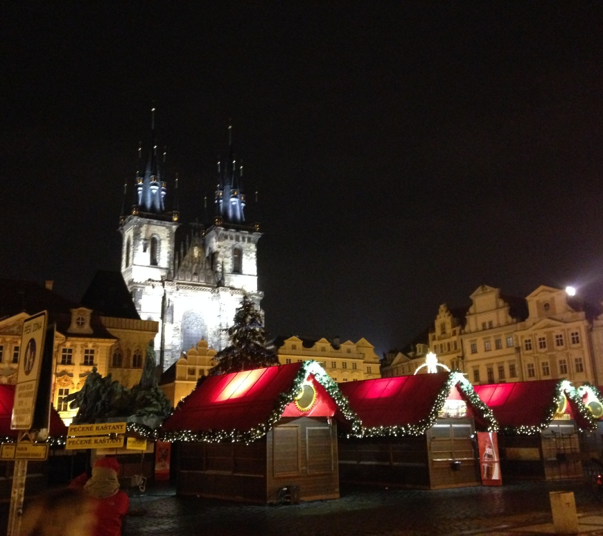 Prague Old Town Square Christmas