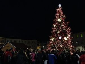 Znojmo's Christmas Tree