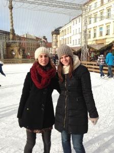 Ice Skating in Olomouc