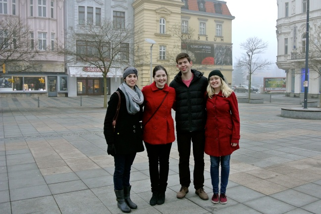 Fulbrighters in Ostrava