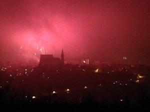 Fireworks Over Znojmo