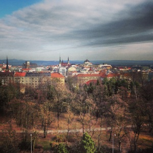 The Beautiful View of Olomouc From our Conference Room Window