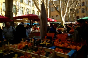 Saturday Market in Aix-en-Provence