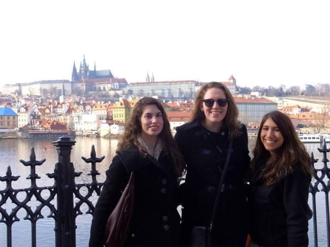 Friends in Prague