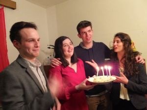 Fulbright Birthday Group