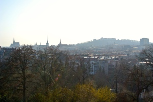 View of Brno from Villa Tugendhat