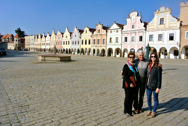 With Grandparents in Telč