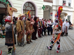 The Traditional Masopust Costumes