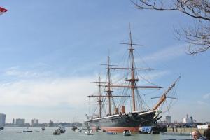 The HMS Warrior, Portsmouth