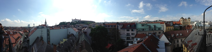 Bratislava View from Michael's Gate