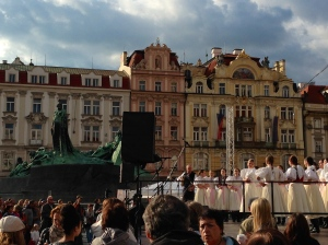 Prague Minorities Festival in Old Town Square