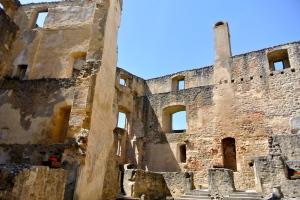 Landštejn Castle Roman Courtyard
