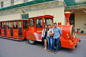 With the Tourist Train