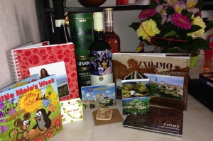 Gifts from Students and Teachers