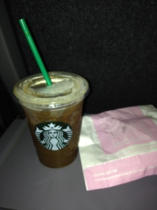 My Breakfast in America: Starbucks, Iced Coffee, Pumpkin Bread