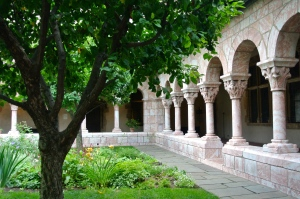 The Main Cloister Courtyard