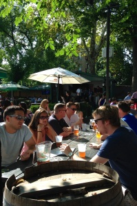 A Czech Beer Garden in NYC