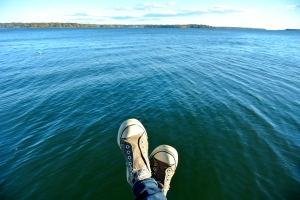 Sitting over the Bluest Water