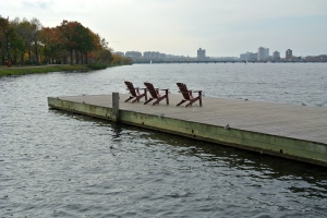 Sitting on the Charles