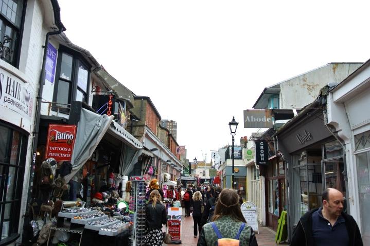 The North Laine, Brighton