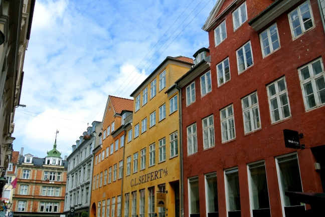 Colorful Copenhagen Streets