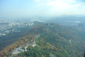 View of Seoul from the Central Tower
