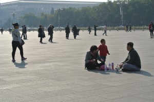 Picnic in Tiananmen Square