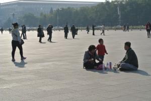 Picnic in Tiananmen Square