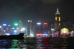 The Hong Kong Skyline