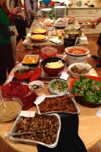 The Full Thanksgiving Spread