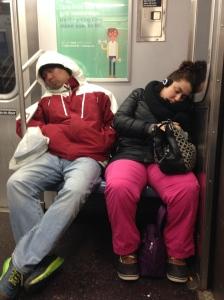 Winter Subway Blues