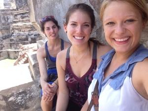 Sitting on a Stupa