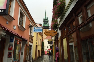 My Favorite Znojmo Street (Even in the Rain)