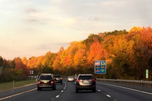 Fall Road Trip Home from VA