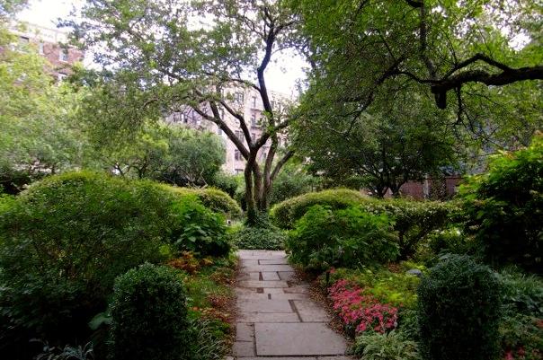 Hudson Street Church Garden