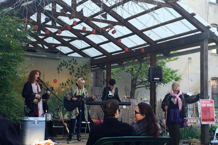 Garden Folk Concert