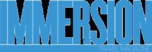Immersion Travel Magazine Logo