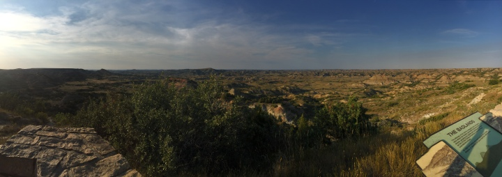 Teddy Roosevelt National Park Painted Canyon