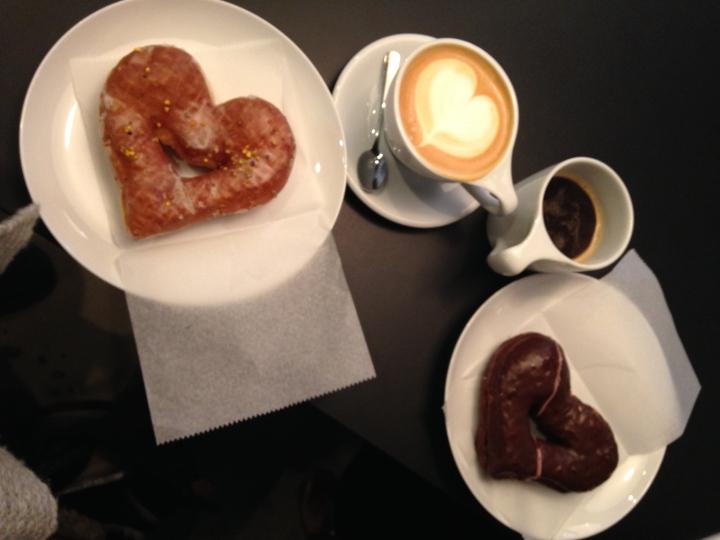 Valentine's Day Doughnuts
