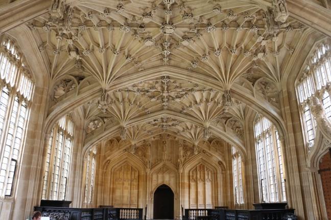 Divinity School Bodleian Library