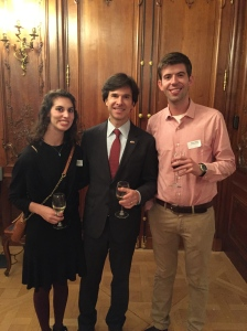 Ambassador Schapiro Fulbright reception
