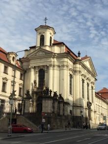 Church Ss Cyril Methodius Prague