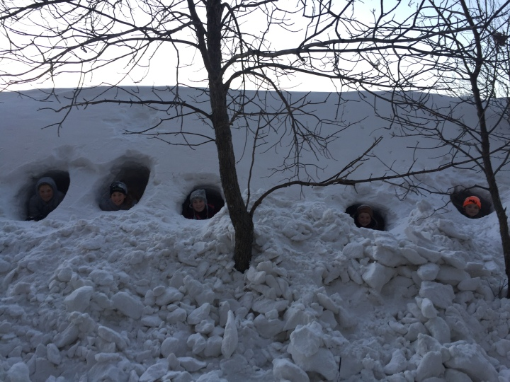 North-dakota-snow-fort